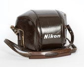Nikon F Brown Leather Case