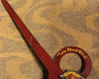Vintage 1947-Issue Novel Products Company-Manufactured Dare-Devil Dick Amusement Park Toy