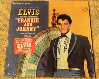 Elvis | Frankie and Johnny Original Soundtrack Album LSP-3553 STEREO w/ Full Color Collectible Portrait