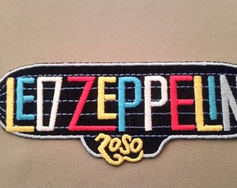 led zeppelin embroidered patch
