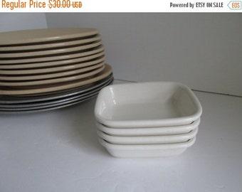 SALE SET Restaurantware side dishes set Restaurant Plates Buffalo China Cafe Plates USA Restaurant ware Bowls