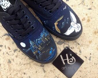 Custom Harry Potter Insipred Vans or Toms