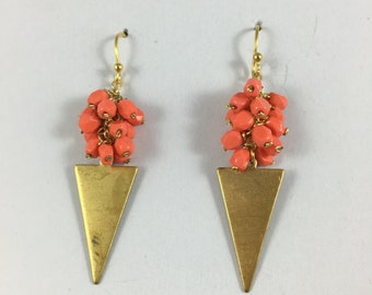 Coral Triangle Earrings