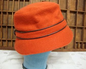 Red Coach Wool Bucket Hat
