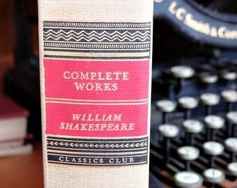 1937 Classics Club COMPLETE WORKS William Shakespeare