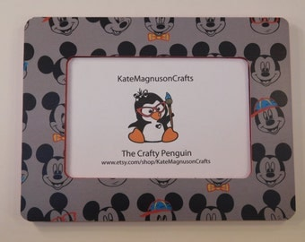Mickey Mouse Inspired Vacation Picture Frame