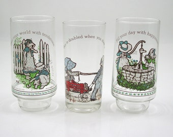 Holly Hobbie Drinking Glass Collection