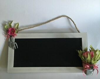 Garden Party Chalkboard