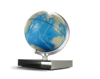 Vintage Earth Globe *Ocean Topography * 1978 Rand McNally International Globe * Cold War Era