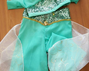 Princess Jasmine - Girls Princess Jasmine Costume.