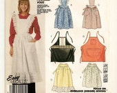 A His or Hers Apron Sewing Pattern: 7 Styles Including Full and Half Aprons, Pinafore-Style, Cobbler-Style - Uncut • McCall's 2819