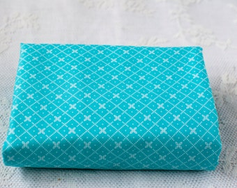 Fat Quarter ~ Riley Blake ~ Bloom and Bliss ~ Diamond ~ Blue