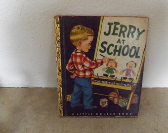 Jerry At School book