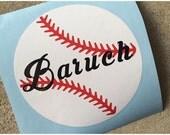 Custom Listing - Baseball Decal For Autumn