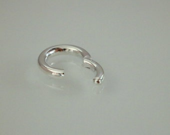 1 PC, Clasp, 925 Sterling Silver, Round Shape Clasp, Connector, Necklace or Bracelet Clasp, High Quality DIY Supplies