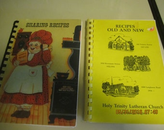Vintage Church Lady Cook Books Great Recipes