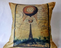 Steampunk cushion cover  40 x 40 cm 16 x 16 inches