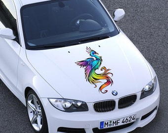 Car Hood Decal Etsy - Custom vinyl car hood decals
