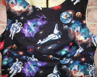 Size 18 Retro 60's Style Space Dress