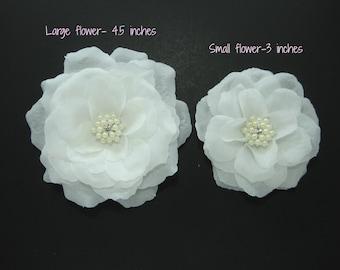 White Dog Flower ,Wedding Dog Flower,Dog Flower Accessory
