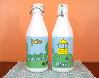 Vintage Juice and Water pitchers