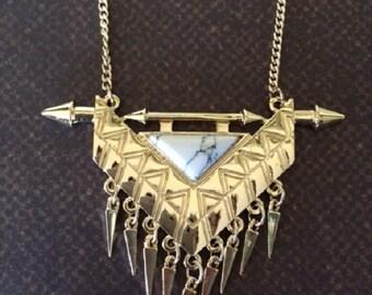 Gold Arrow Necklace - Arrow Necklace - Arrow Necklace Gold - Arrow Jewelry - Arrow Jewlery - Native American Jewelry - Arrow Pendant - Arrow