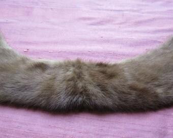 Beautiful Little Fur's Collar . Vintage. to Embellish a Coat- aJacket - a Cardigan..