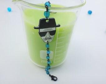 Heisenberg Bracelet | Breaking Bad Bracelet | Walter White Bracelet | Shrinky Dink Bracelet