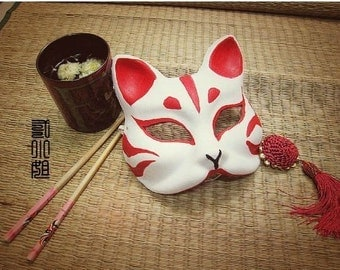 From Japan Fox Mask Anime Costume Cosplay