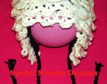 PDF Wikked Skull Earflap Hat   Crochet Pattern