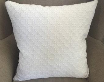 Waverly Full Circle Sail Fabric Large Cushion Cover/Pillow.