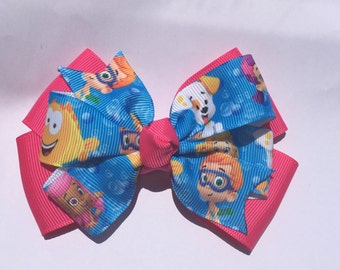 Bubble Guppies hair bow