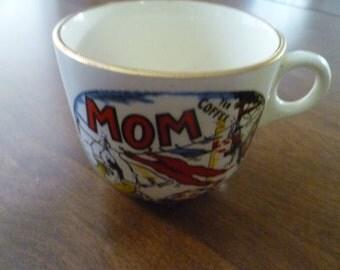 "Vintage ""Mom"" Cup"