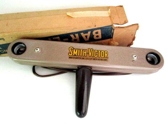 Mid Century Photography Equipment, Photography Light Bar, Smith Victor Bar Lite Light, Original Box