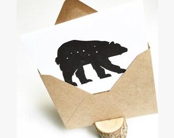 Ursa Major Bear Illustration - Constellation -  Everyday Card Set