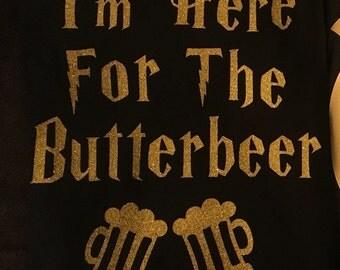 Harry Potter butter beer shirt
