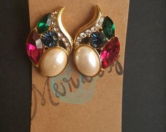 Monet Vintage earrings