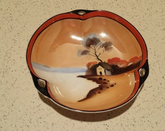 Hand Painted Noritake Bowl