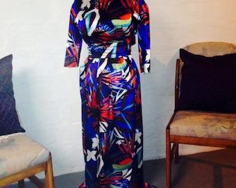 Airbrush Printed Dress