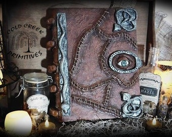 Hocus Pocus Inspired Spell Book Halloween Prop Decoration