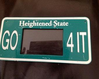 Vintage License Plate Frame Etsy