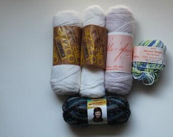 Destash Vintage Dazzleaire Yarn and More