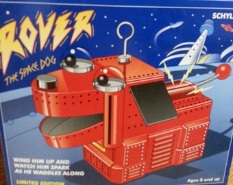 """Schylling  Collector Series  """"Rover The Space Dog"""" Limited Edition No 25192"""