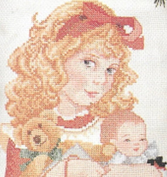 Jan Hagara Cross Stitch Patterns: Jan Hagara's Carol Counted Cross Stitch Personalized