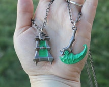 League of Legends Inspired Thresh Hook or Lantern with Optional Thresh Quote