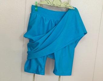 Swim Skirt &Leggings/Ladies Swim Skirt/Attached Leggings/Swimskirt with Leggings/Please allow 3 - 4 weeks for processing before shipment