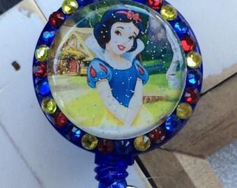 Snow White badge holder