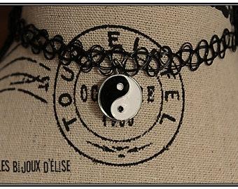 Sale - Tattoo Choker Yin Yang or Tatto Bracelet