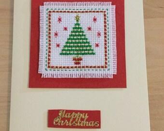 Handmade Christmas Card: Christmas Tree