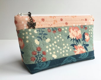 Pouch - Zippered Pouch - Cosmetic Pouch - Coin Purse - Pencil Case - Travel Pouch - MakeUp Pouch - Gym Bag - Purse Pouch - Gadget Case
